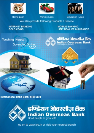 Digital Printing Indian oversease bank