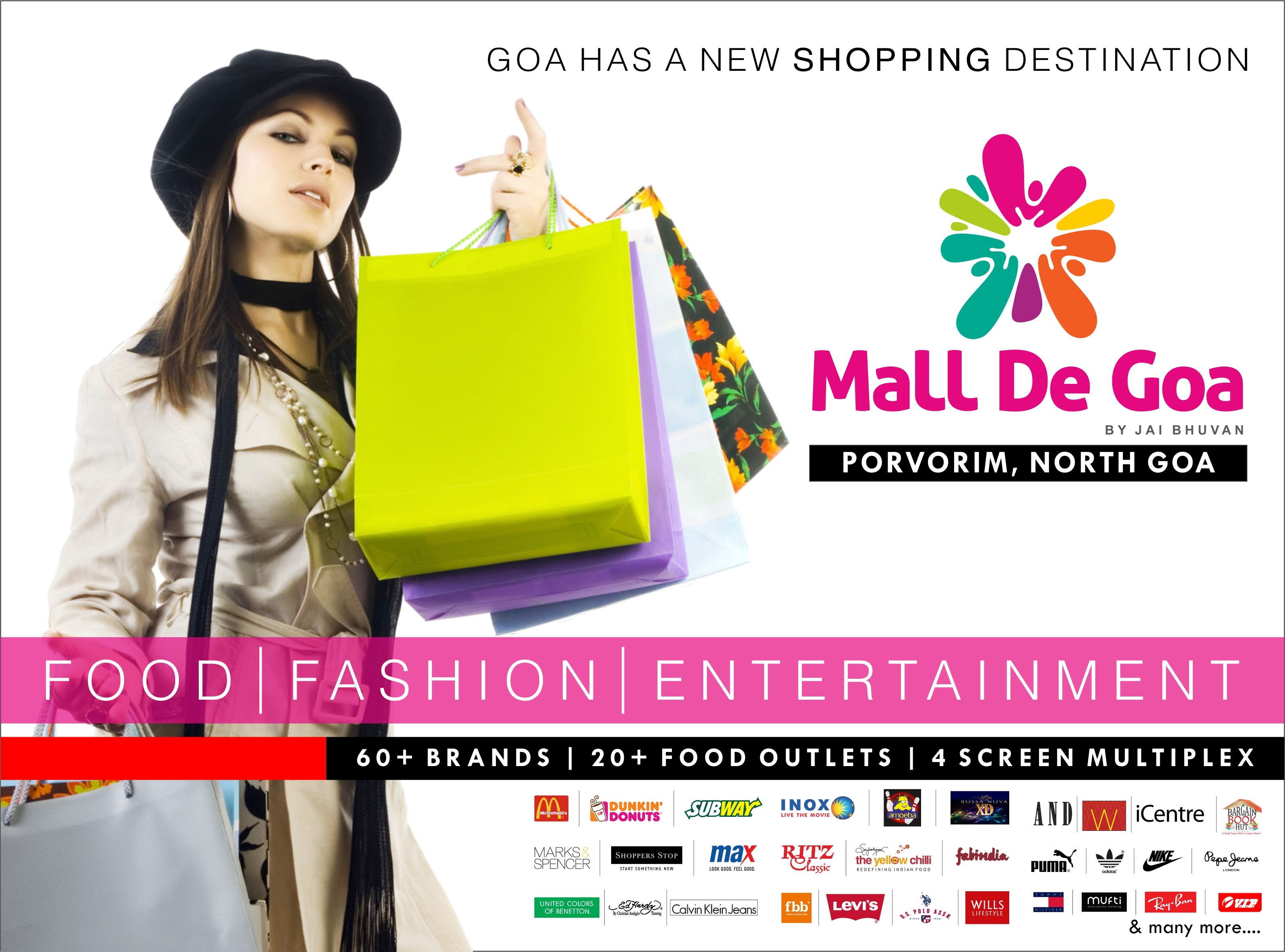 Mall De Goa Magazine Full Page